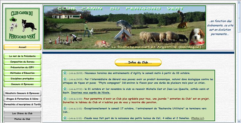 Site Web Canin