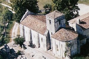 Eglise vue du ciel