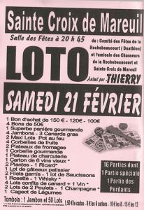 Loto du Duathlon de La Rochebeaucourt