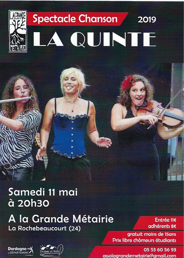 11 mai – Concert spectacle